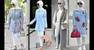 صوره ملابس شتوية للمحجبات تركية , اجمل ملابس تركيه محجبات