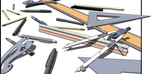 صور ادوات هندسية , صور لمعدات الرسم