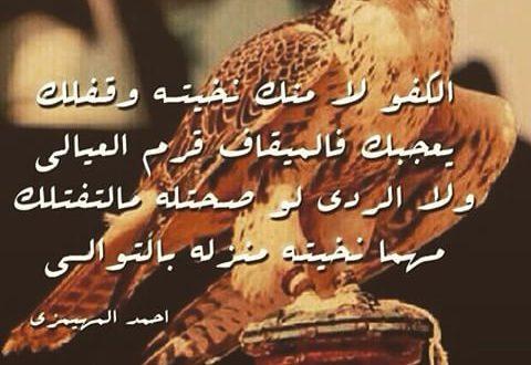 صورة قصيدة مدح في رجل شهم , ابيات شعرية للشباب