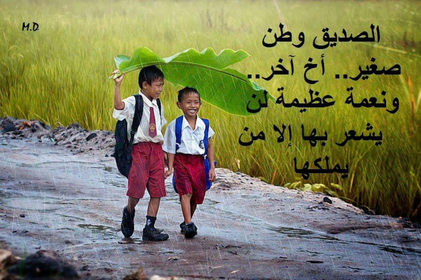 بالصور كلام عن الاصدقاء , كلمات معبرة عن الاصحاب 5810 2