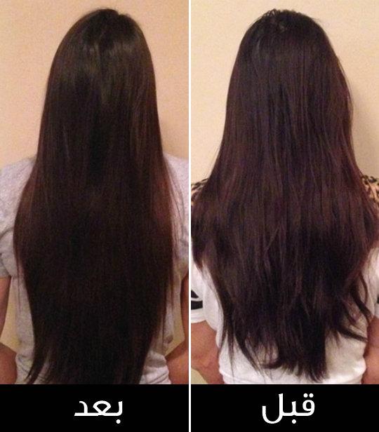 صورة طرق تطويل الشعر , خلطات لشعر صحي
