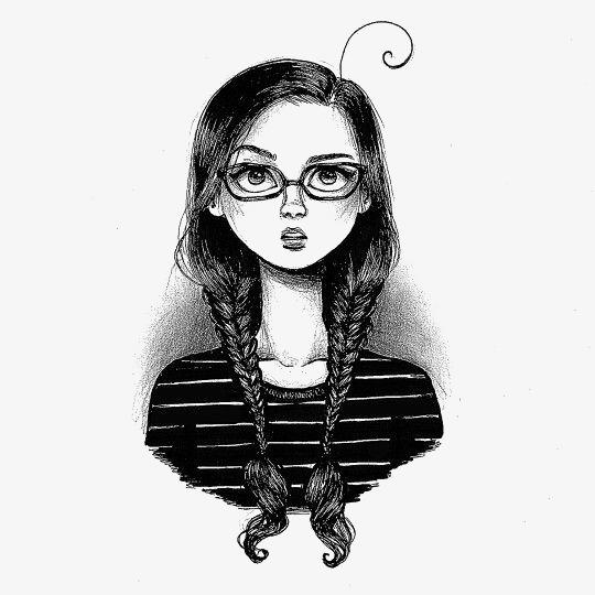 بالصور رسومات بنات حلوه , البنت الحلوة الفرفوشة المرسومة 2245 5