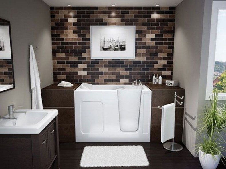 بالصور ديكور حمامات منازل , ديكورات للحمامات شيك ورقيق 2269 6