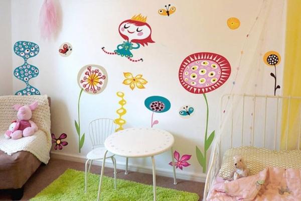 بالصور دهانات غرف اطفال , اختيار الوان لغرف اطفال بنت او ولد 2303 1