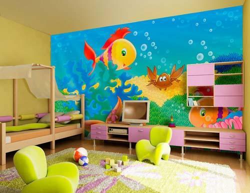 بالصور دهانات غرف اطفال , اختيار الوان لغرف اطفال بنت او ولد 2303 11