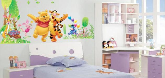 بالصور دهانات غرف اطفال , اختيار الوان لغرف اطفال بنت او ولد 2303 3