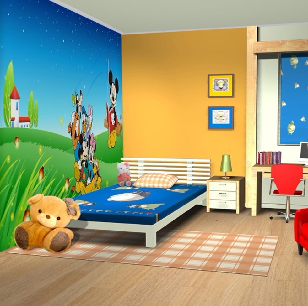 بالصور دهانات غرف اطفال , اختيار الوان لغرف اطفال بنت او ولد 2303 4