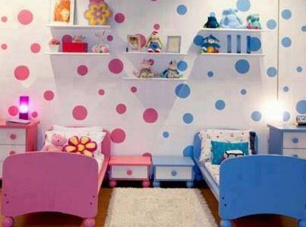 بالصور دهانات غرف اطفال , اختيار الوان لغرف اطفال بنت او ولد 2303 5