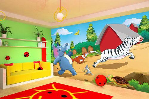 بالصور دهانات غرف اطفال , اختيار الوان لغرف اطفال بنت او ولد 2303 8