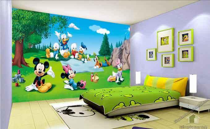 بالصور دهانات غرف اطفال , اختيار الوان لغرف اطفال بنت او ولد 2303 9