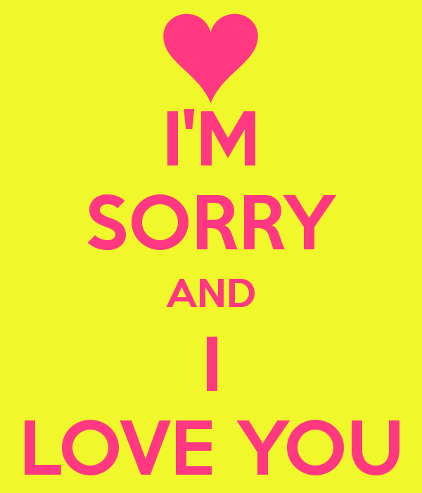 صور رسالة اعتذار لحبيبتي , الاعتذار بين الحبايب