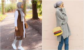 بالصور فساتين محجبات 2019 , الحجاب تاج البنات 2350 12