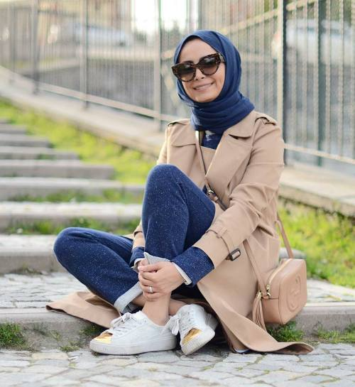بالصور فساتين محجبات 2019 , الحجاب تاج البنات 2350 6