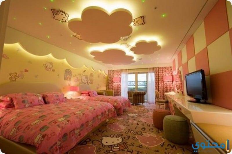 بالصور ديكورات جبس , غرف نوم اطفال 4733 3