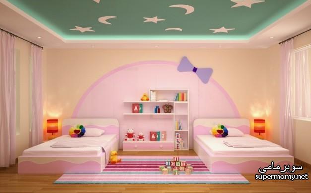 بالصور ديكورات جبس , غرف نوم اطفال 4733 5