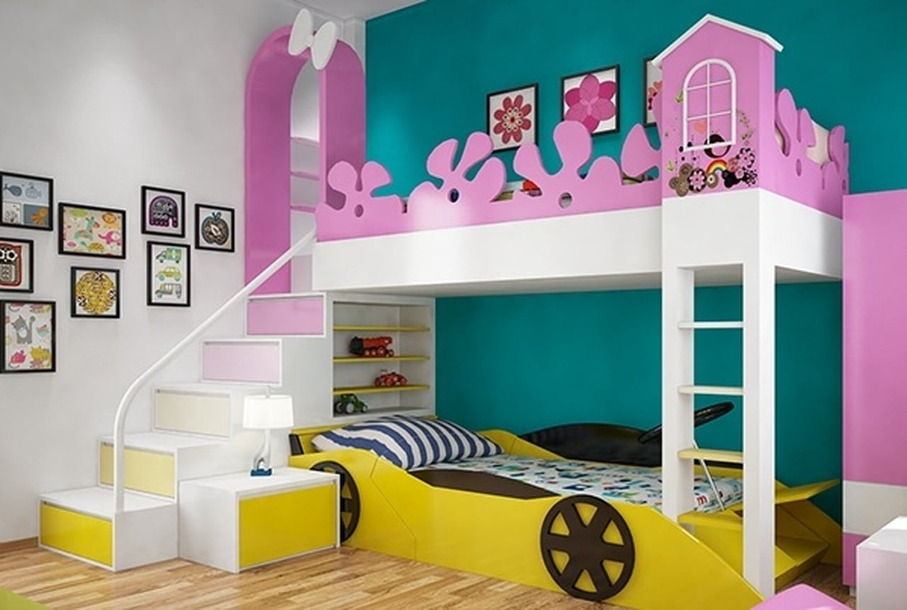 بالصور غرف نوم للاطفال , اجمل غرف نوم للاطفال 5447 1
