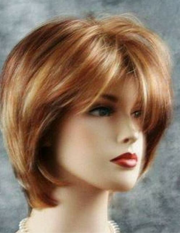 صورة قصات شعر قصير مدرج , اللطف قصات شعر قصير مدرج