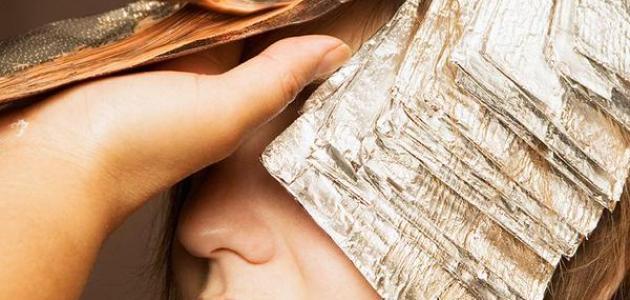 صورة كيفية صبغ الشعر , معلومات عن كيفيه سبغ الشعر