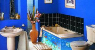 ديكور حمامات صغيرة , كيف نسفيد من كل مكان في الحمام وخصوصا اذا كان صغيرا