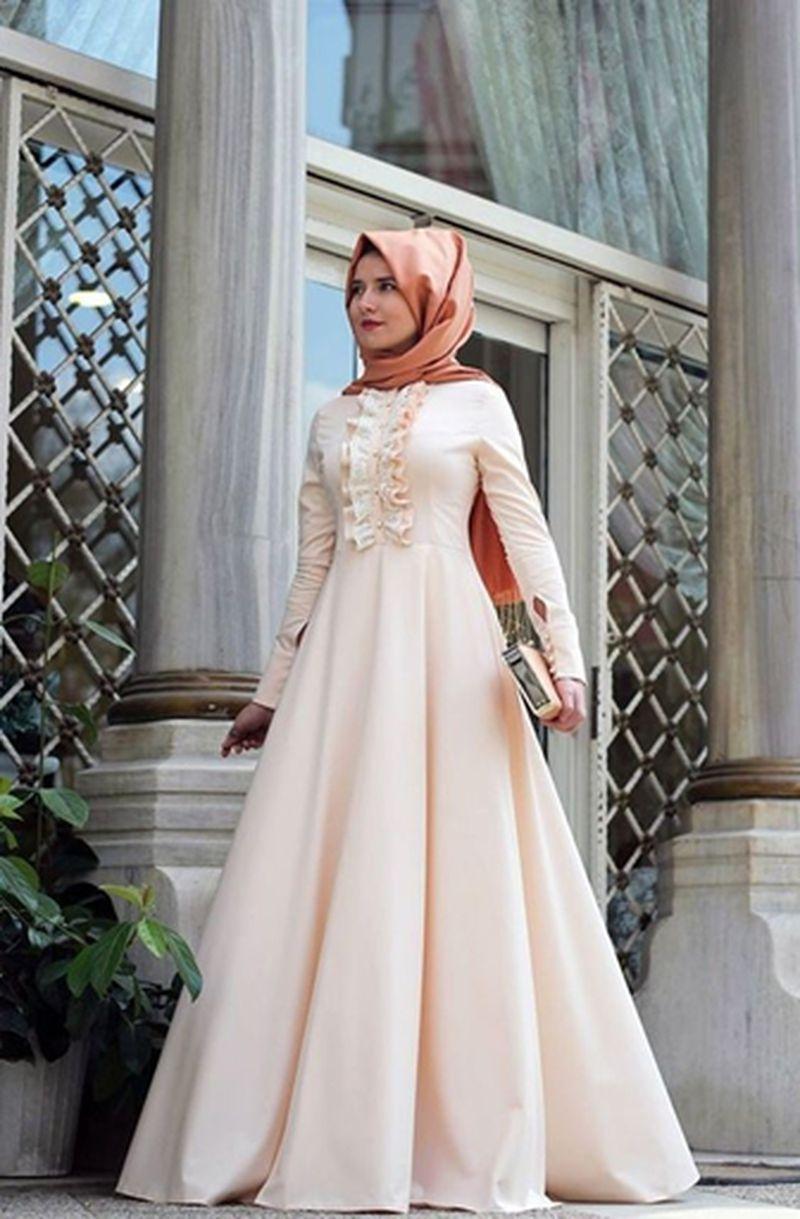 صورة اجمل الفساتين للمحجبات , فساتين محجبات روعه 3790 3