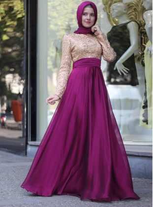 صورة اجمل الفساتين للمحجبات , فساتين محجبات روعه 3790 7