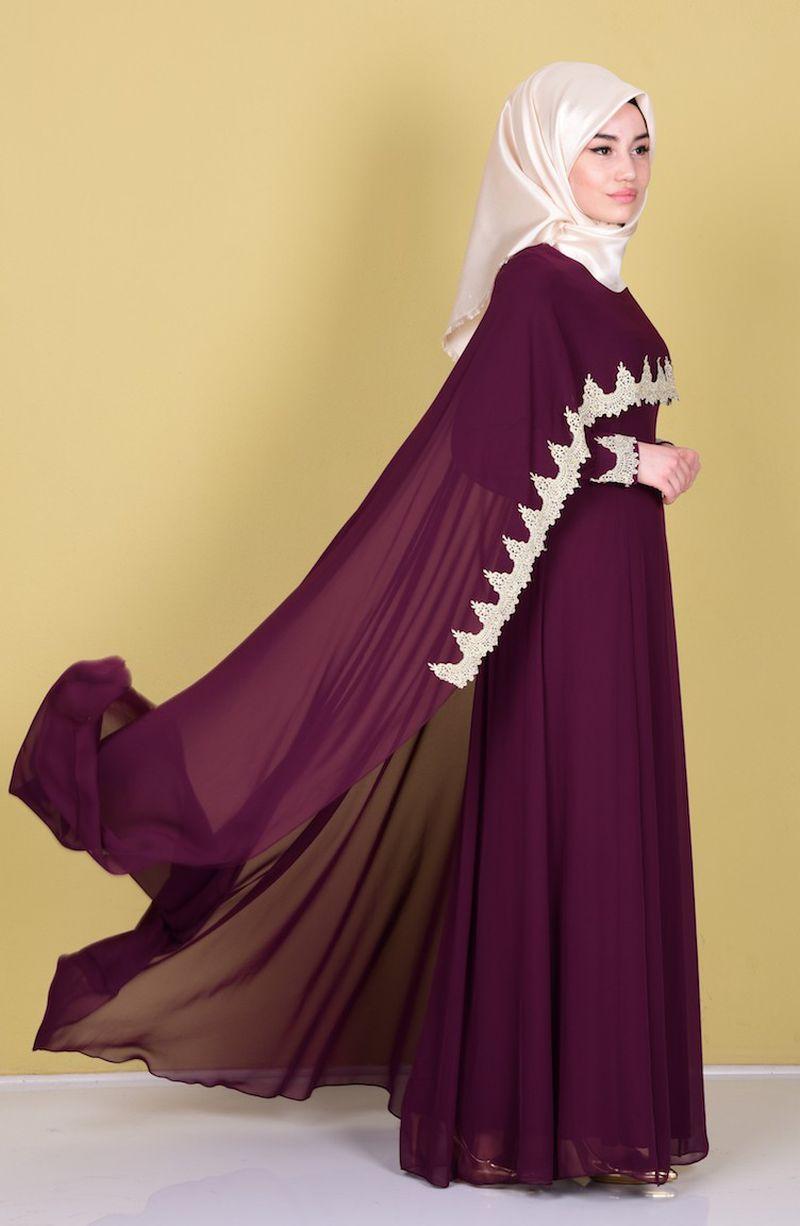 صورة اجمل الفساتين للمحجبات , فساتين محجبات روعه 3790 8