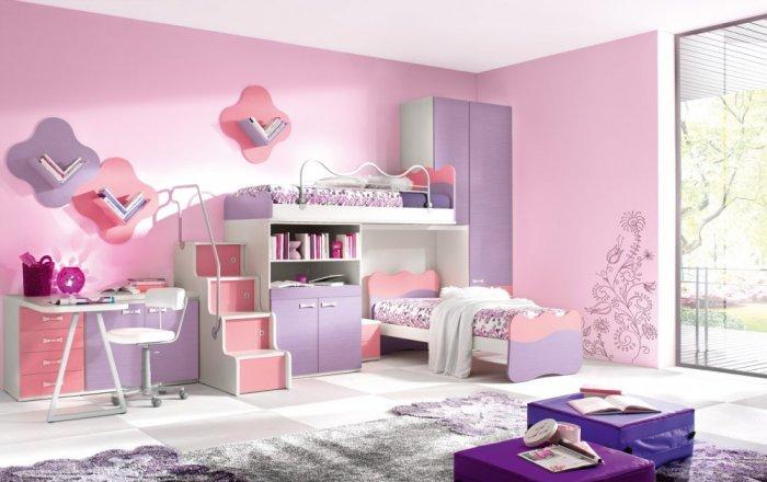صور ديكورات غرف نوم اطفال , ديكورات رائعه وفاخره للاطفال