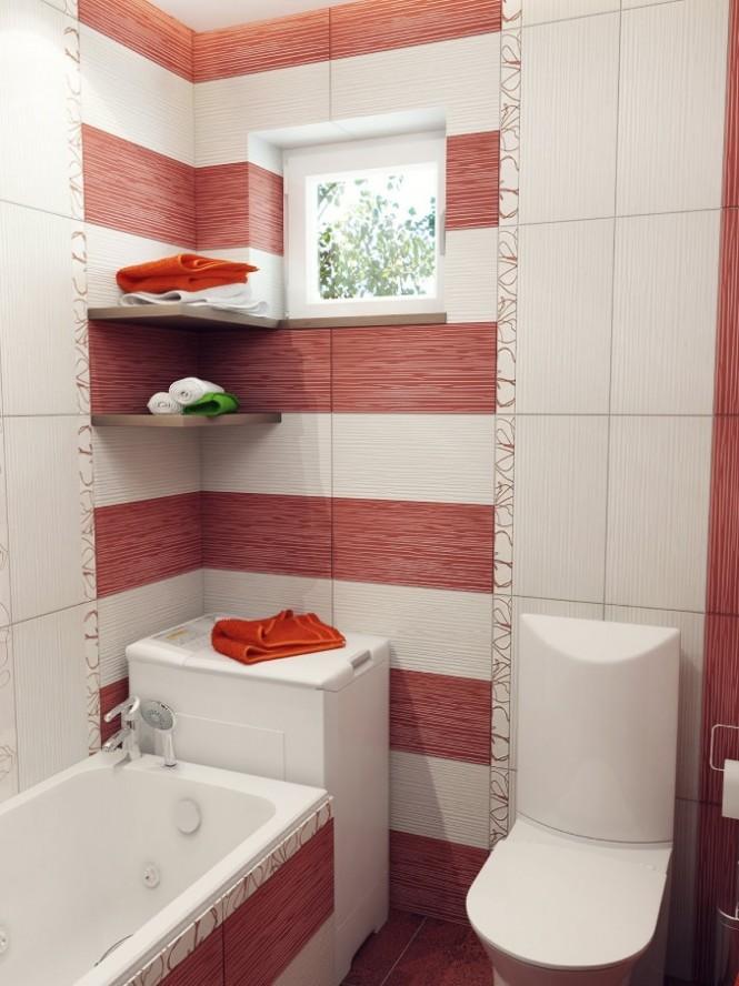 بالصور ديكورات حمامات صغيرة جدا وبسيطة , افكار لتنظيم الحمامات الصغيره 4364 12