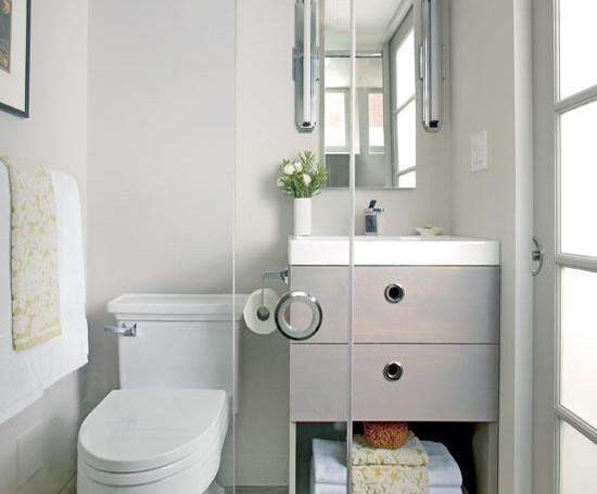 بالصور ديكورات حمامات صغيرة جدا وبسيطة , افكار لتنظيم الحمامات الصغيره 4364 8