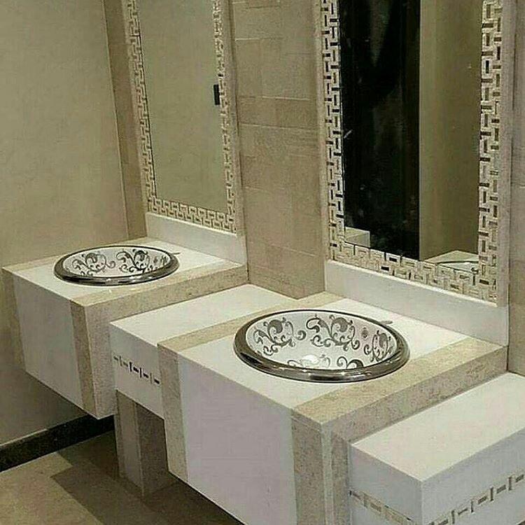 بالصور مغاسل رخام مودرن , فخامة احواض الرخام 4469 1