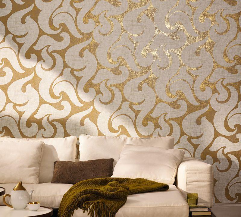 بالصور ورق جدران للمجالس , تصاميم لورق الحائط 4470 11