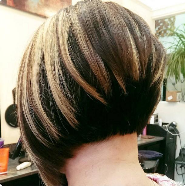 بالصور اجمل قصات الشعر القصير , ابداعات جديدة لقصات الشعر القصير 4494 6