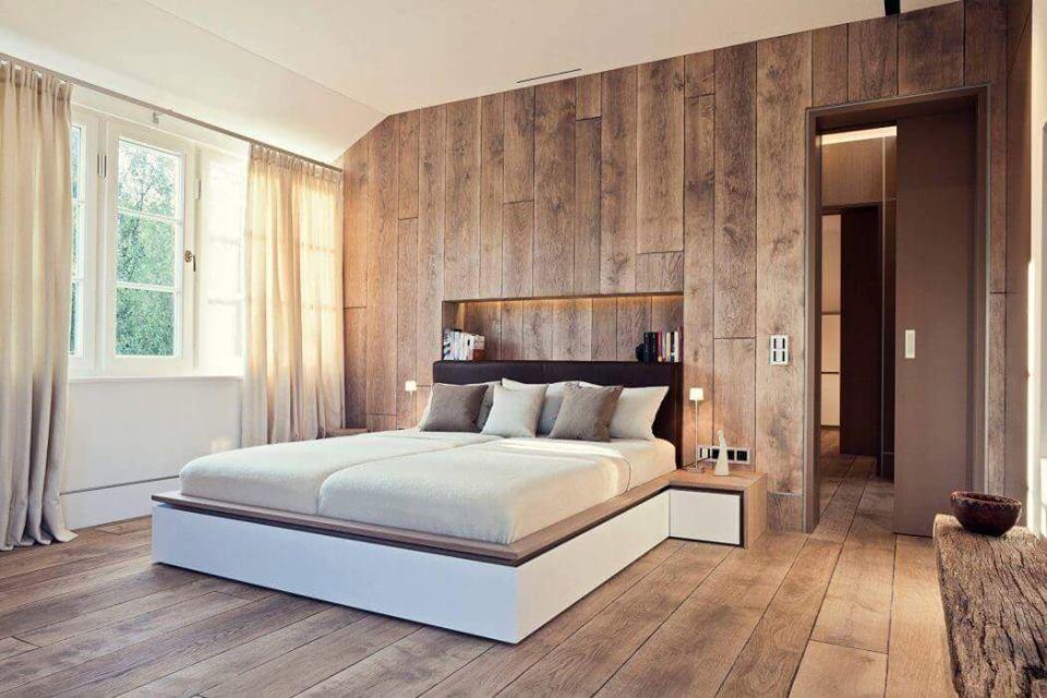 صوره غرف نوم خشب , اجمل تصاميم غرف النوم الخشب