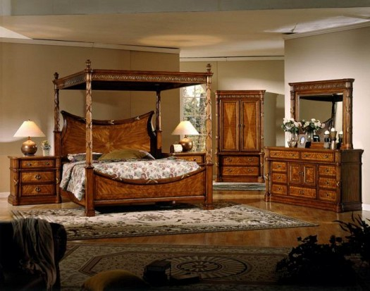 بالصور غرف نوم خشب , اجمل تصاميم غرف النوم الخشب 4508 7