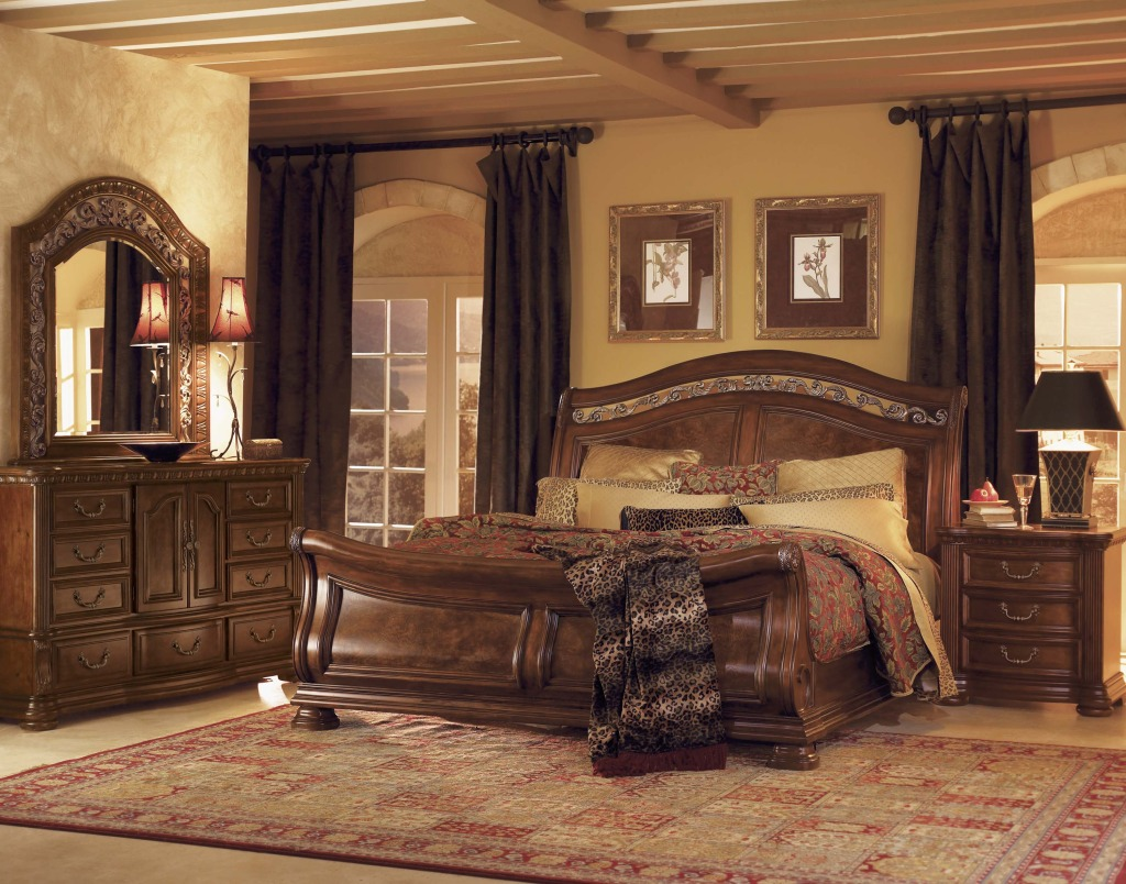 بالصور غرف نوم خشب , اجمل تصاميم غرف النوم الخشب 4508 8
