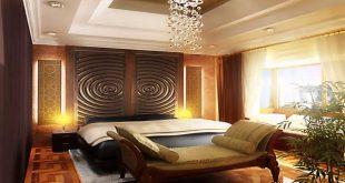 صوره ديكورات غرف النوم الرئيسية , التصاميم الجديده لغرف النوم