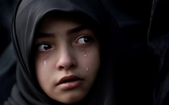 بالصور طفلة حزينة , دموع وحزن الاطفال