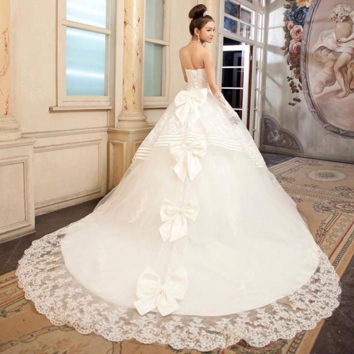 بالصور صور فساتين عرايس , فساتين زفاف راقيه 4623 11
