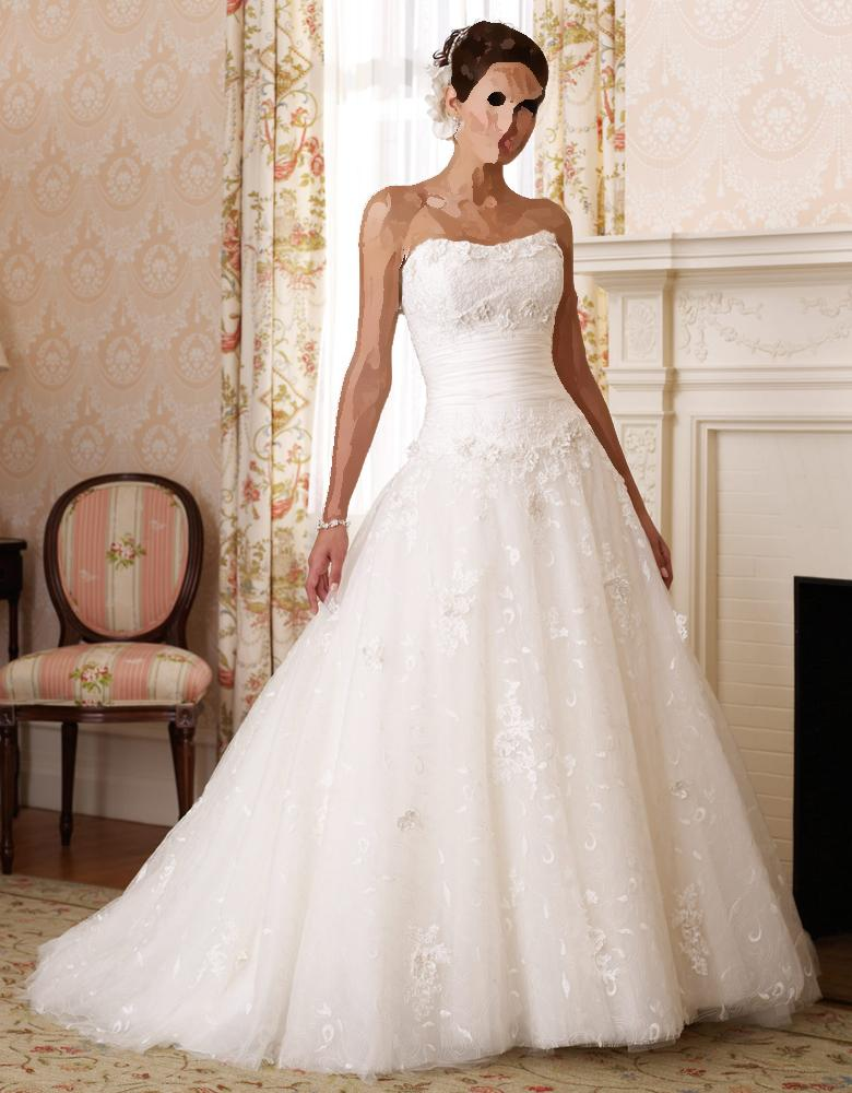 بالصور صور فساتين عرايس , فساتين زفاف راقيه 4623 12