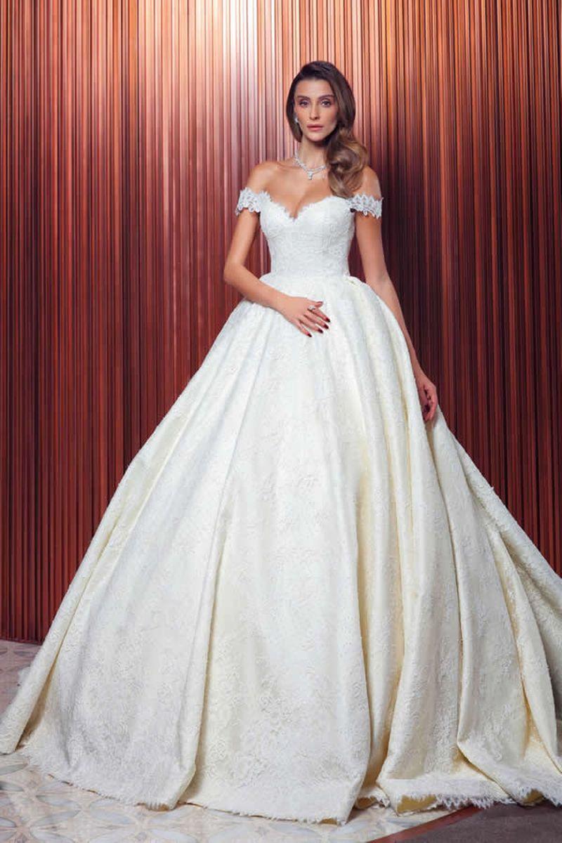 بالصور صور فساتين عرايس , فساتين زفاف راقيه 4623 2