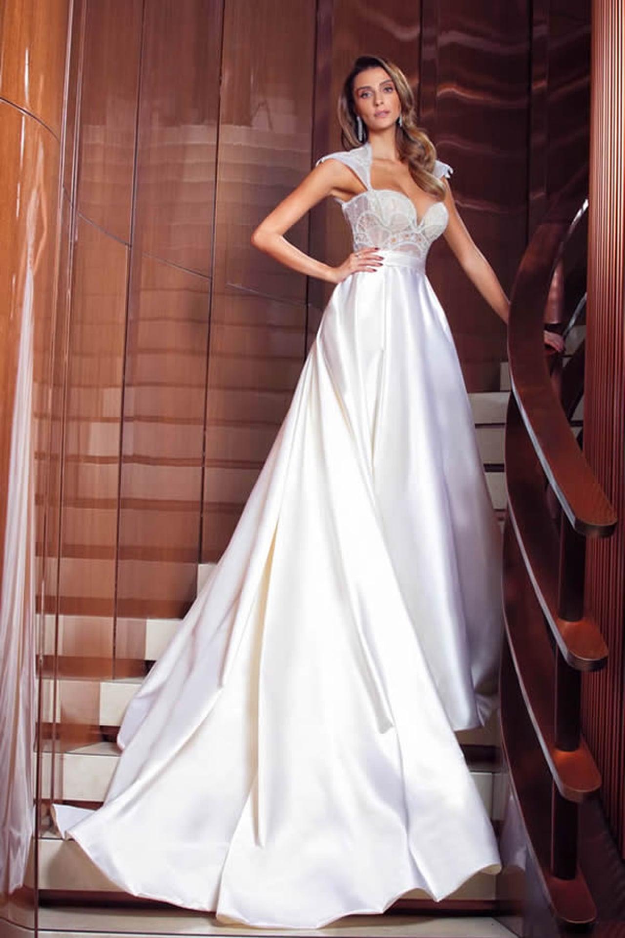 بالصور صور فساتين عرايس , فساتين زفاف راقيه 4623 4