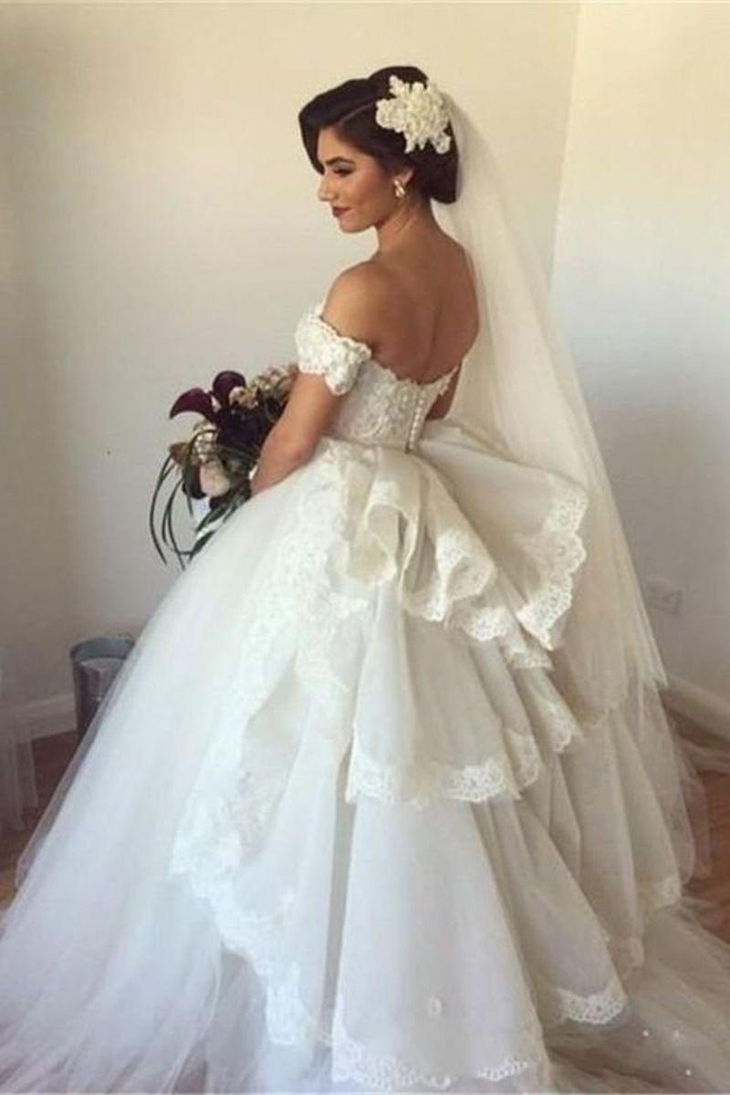 بالصور صور فساتين عرايس , فساتين زفاف راقيه 4623 5