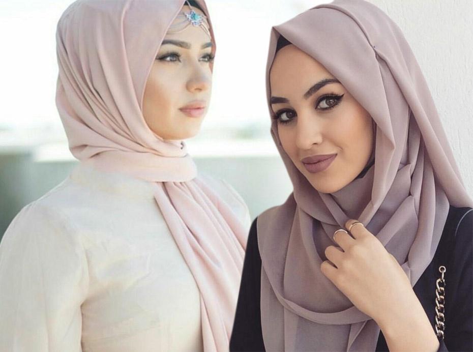 صوره صور لفات حجاب , اروع صور لفات الحجاب.