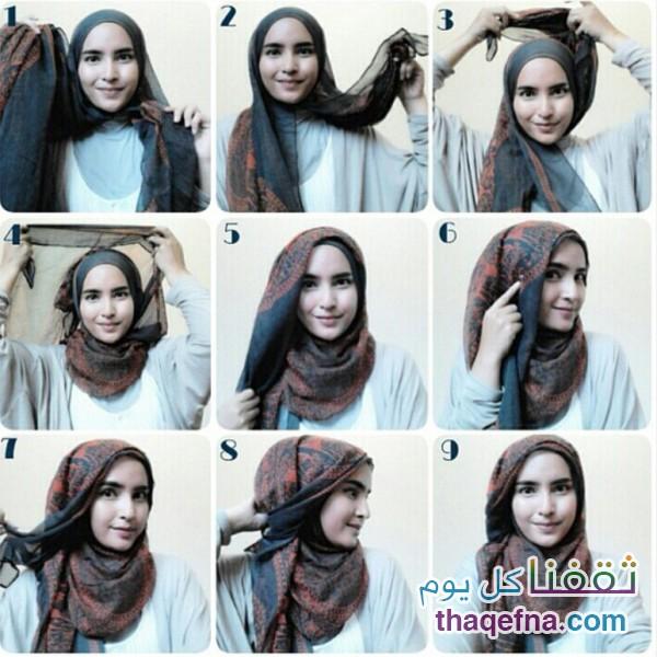 صورة صور لفات حجاب , لاول مرة اروع صور لفات الحجاب