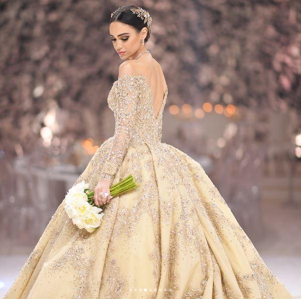 صوره فساتين زفاف زهير مراد 2019 , اروع واجمل فساتين الزفاف للمصمم اللبناني زهير مراد.