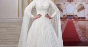 صوره فساتين زفاف محجبات , ارقي فساتين زفاف محجبات