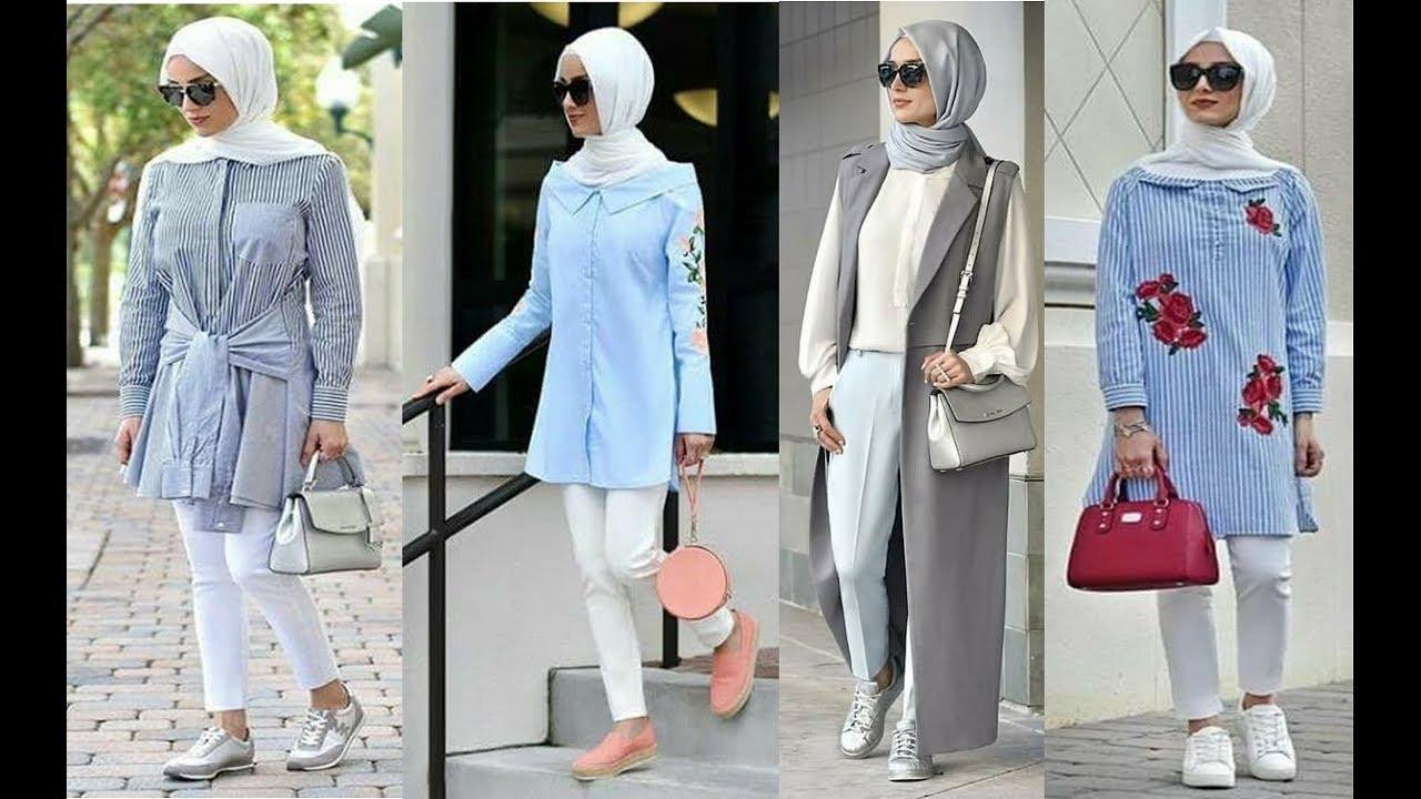 صور ملابس محجبات تركية , تعرف على ملابس محجبات تركيه