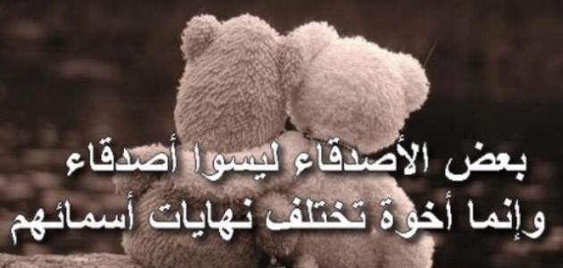 بالصور قصيدة عن الصديق , اجمل كلمات عن الصديق 2847 2