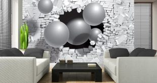 صوره ورق جدران حجر , احدث تصميمات ورق الجدران