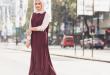 صور ملابس محجبات 2019 , احدث صيحات في ملابس المحجبات